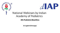 4th Pediatric Bioethics