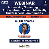 Addressing Colorectal Cancer Screening in African American and Medically Underserved Communities