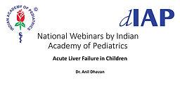Acute Liver Failure in Children