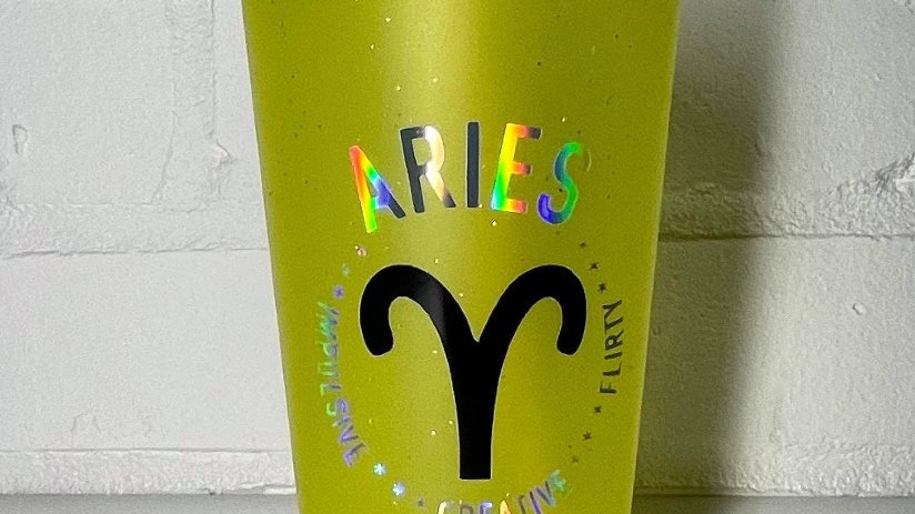 Aries ♈️  Drinking Cup