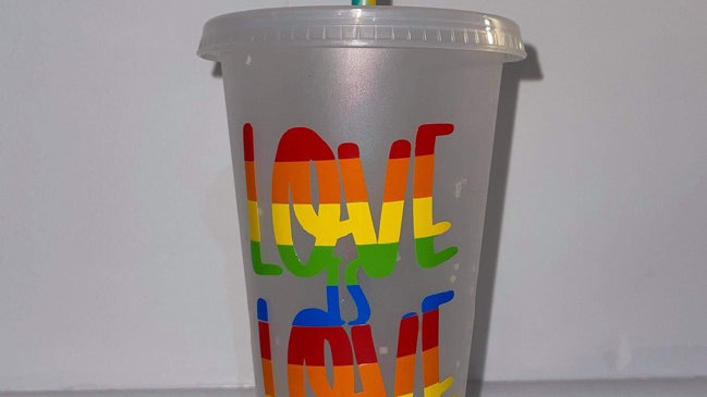 Drinking Cup - #Pride #LoveisLove