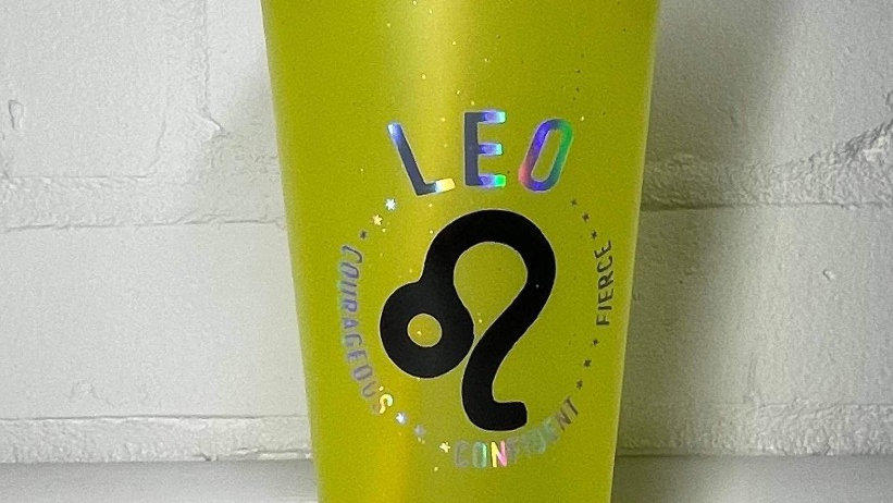 Leo ♌️ Drinking Cup