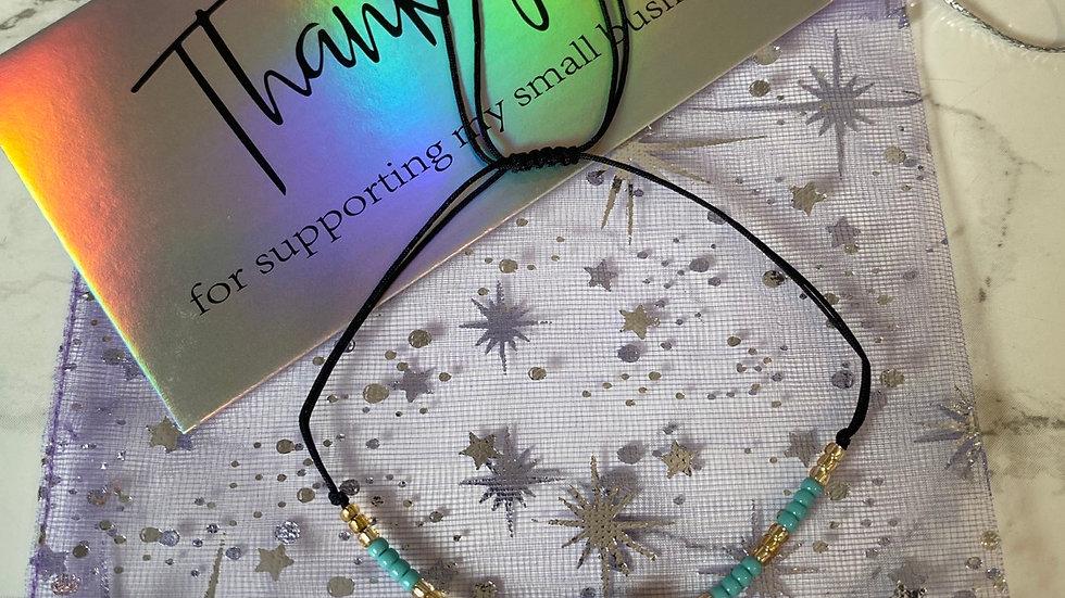 Turkish Eye Boho Bracelet - Turquoise