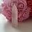 Thumbnail: Rose Quartz Pillar Crystal (small)