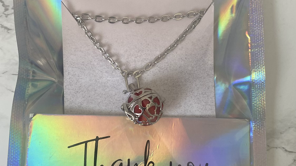 Aroma Necklace - Hearts