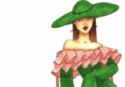 Hunter Green Couture