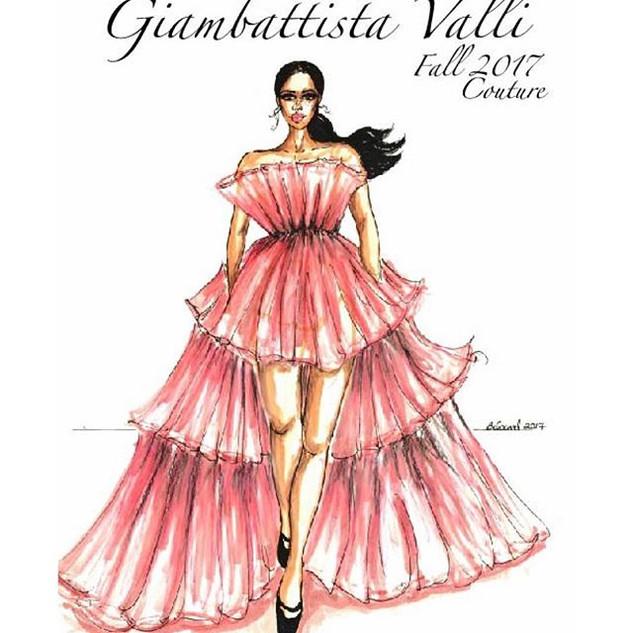 Giambattista Valli Fall Couture 2017 💖?
