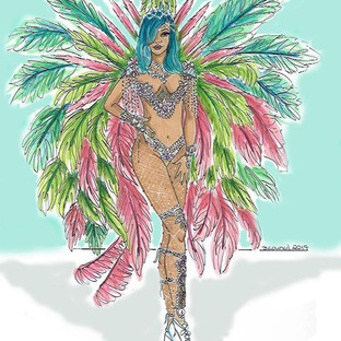 #CropOver2017 Rihanna #illuatration #fas