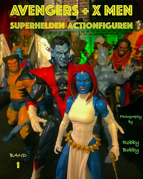 Buch Superhelden Band 1 auf Deutsch