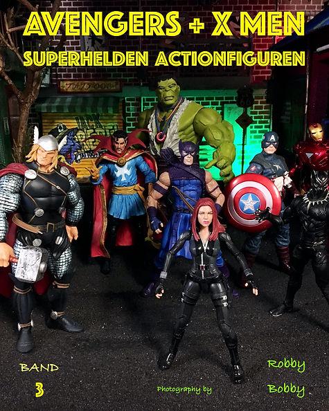 Buch Superhelden Band 3 auf Deutsch