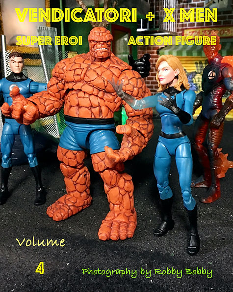 libro supereroi volume 4 in italiano
