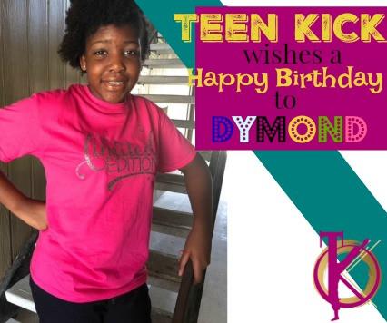TK Celebrates Dy'Mond!!