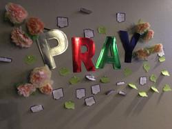 Teen Prayer Wall