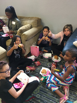 Feeding the Teens