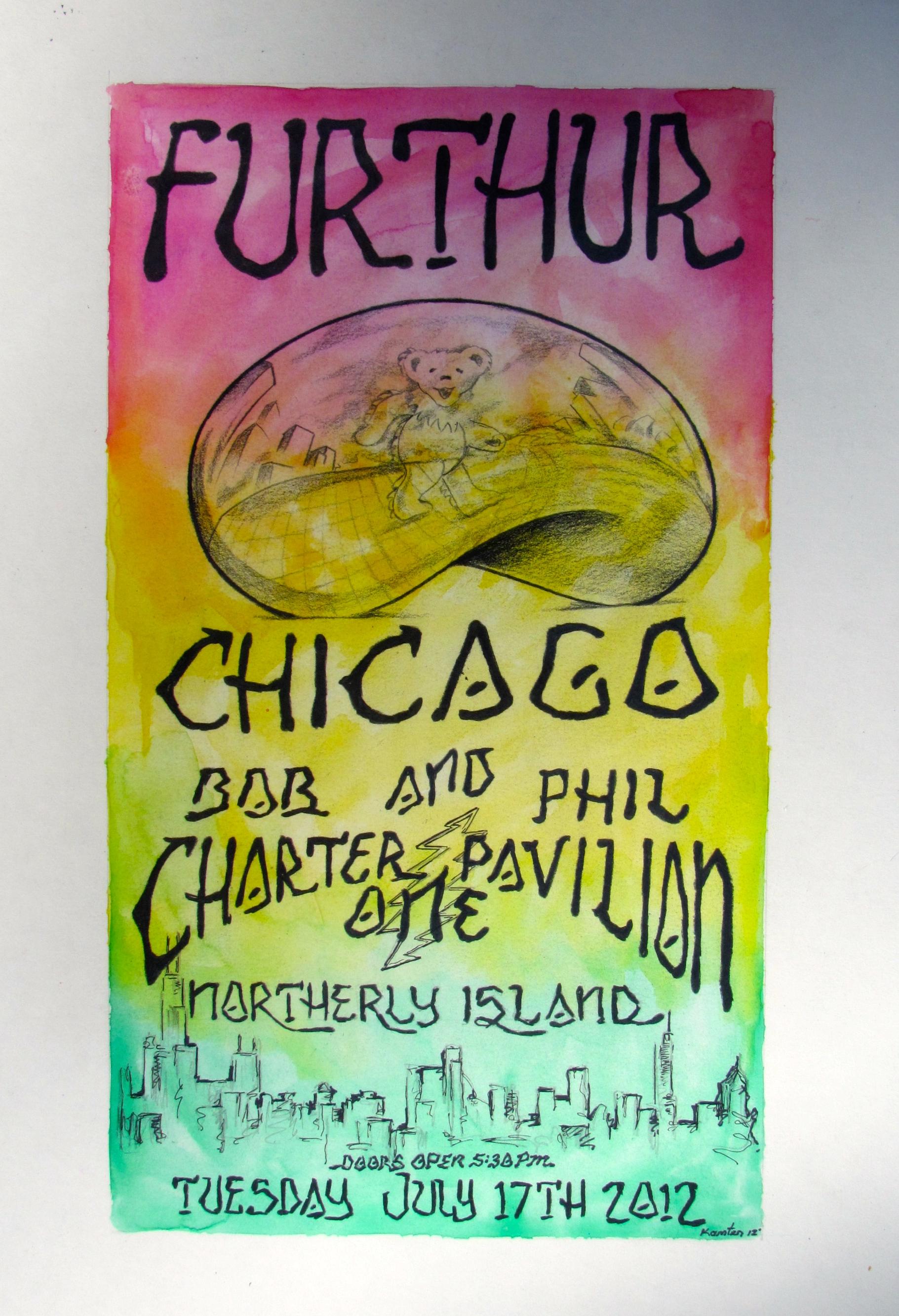 Furthur Concert Poster