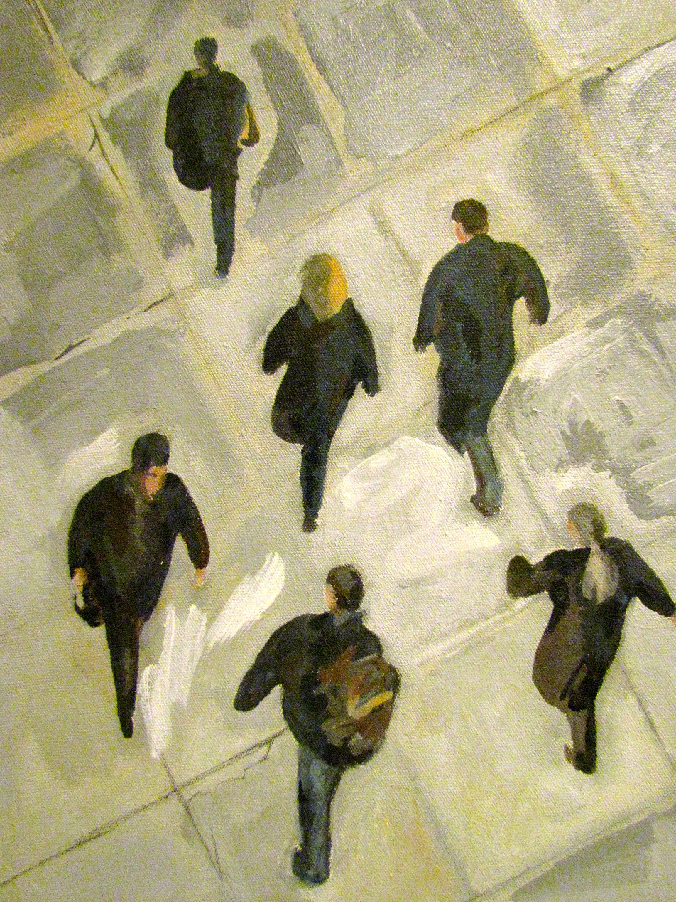 From out the Window (detail)