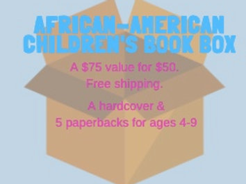 Children's Book Box - 6 titles (one hardcover)