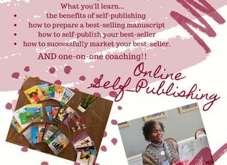 Self-Publishing/Coaching Online Course Now Enrolling