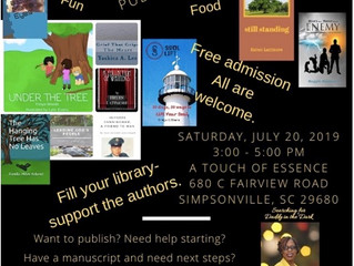 Free Publishing Session and Author Showcase