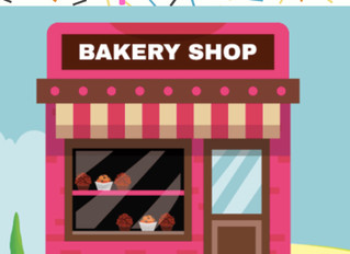 We've Been Away, Baking and Preparing the Class Store