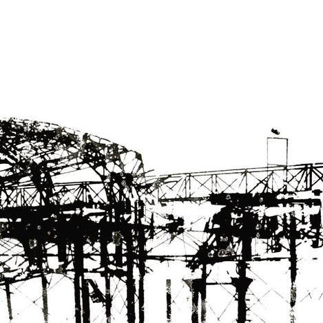 #tbt Brighton Pier screen print.  #marth