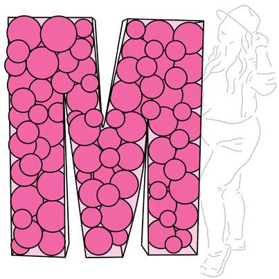 Letter/Number Mosaic - Basic 5'