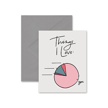 Things I Love Card