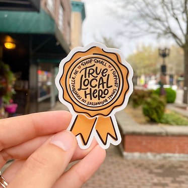 Fayetteville Local Hero Sticker