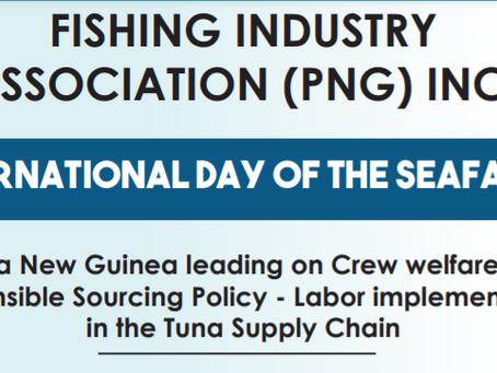 FISHING INDUSTRYASSOCIATION (PNG) INC. - INTERNATIONAL DAY OF THE SEAFARER