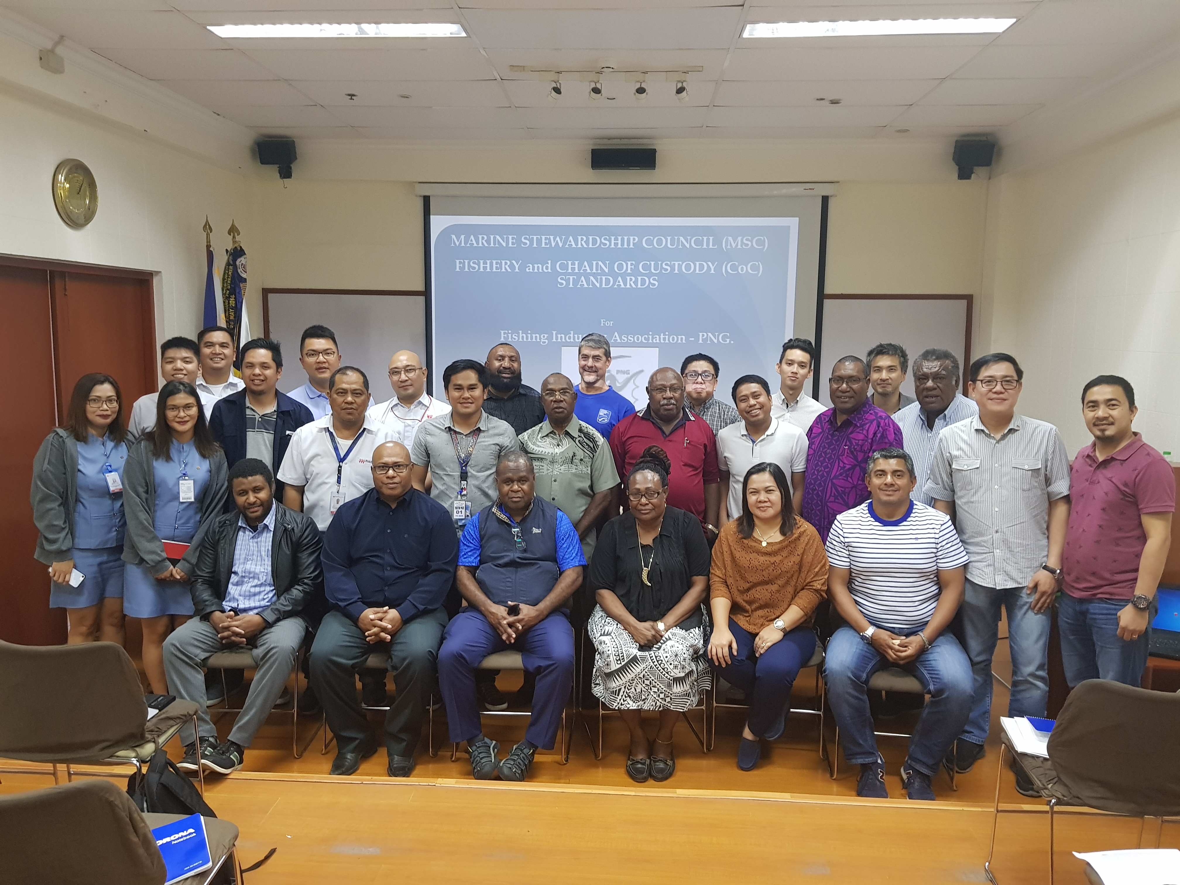 PNG MSC Stakeholders Roundtable Workshop