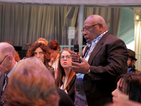 Chairman Pokajam Highlights PNG and FIA's Traceability Robustness at WWF session,Brussels, May 2019