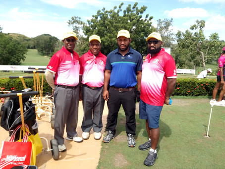 Team RD/PNGFIA participated in the Prime Minister Golf Challenge