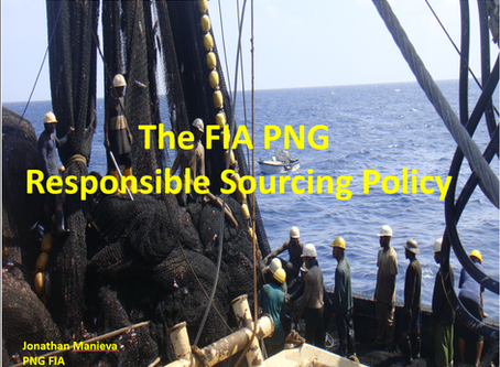FIA-PNG Responsible Sourcing Policy