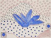 Anjuna 50, 24 x 32 cm, Zeichnung, koloriert