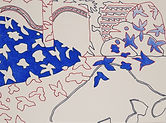 Anjuna 06, 24 x 32 cm, Zeichnung, koloriert