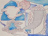 Anjuna 04, 24 x 32 cm, Zeichnung, koloriert