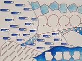 Anjuna 01, 24 x 32 cm, Zeichnung, koloriert