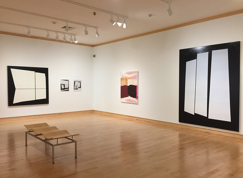 Clippings, Voids, and Banana Curry Exhibit with Jo Smail, Washington College, 2018