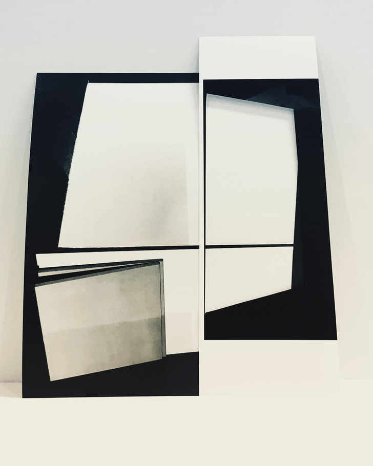 Studio Projection (Reconfigured), 2018, Archival inkjet print, 20 x 16 inches