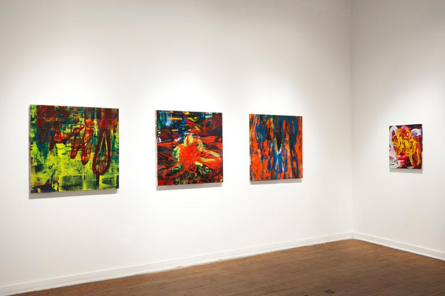 Dead Reckoning Exhibit, School 33 Art Center, 2011