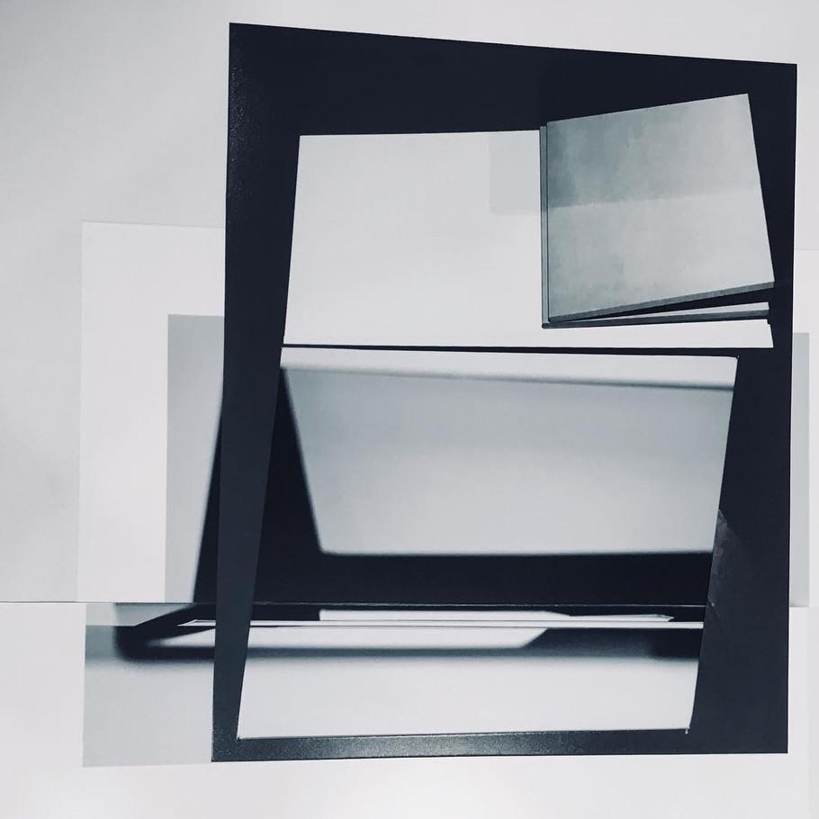 Studio Projection (Reconfigured), 2019, Archival inkjet print, 20 x 16 inches
