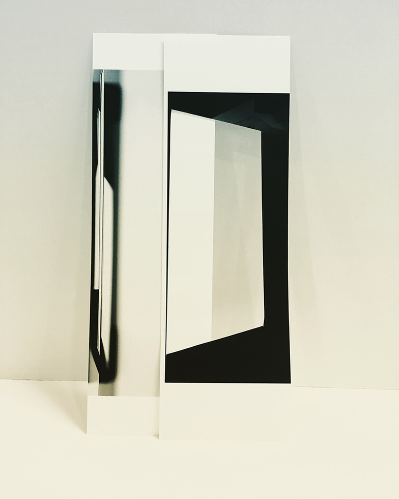Studio Projection (Model), 2019, Archival inkjet print, 16 x 20 inches
