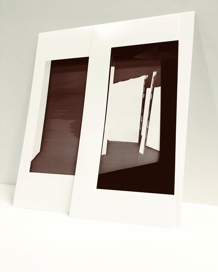 Studio Projection (Model), 2019, Archival inkjet print, 20 x 16 inches