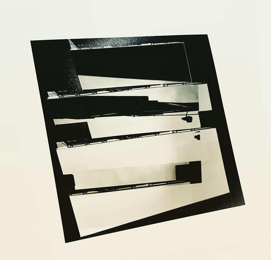 Studio Projection (Model), 2019, Archival inkjet print, 20 x 20 inches