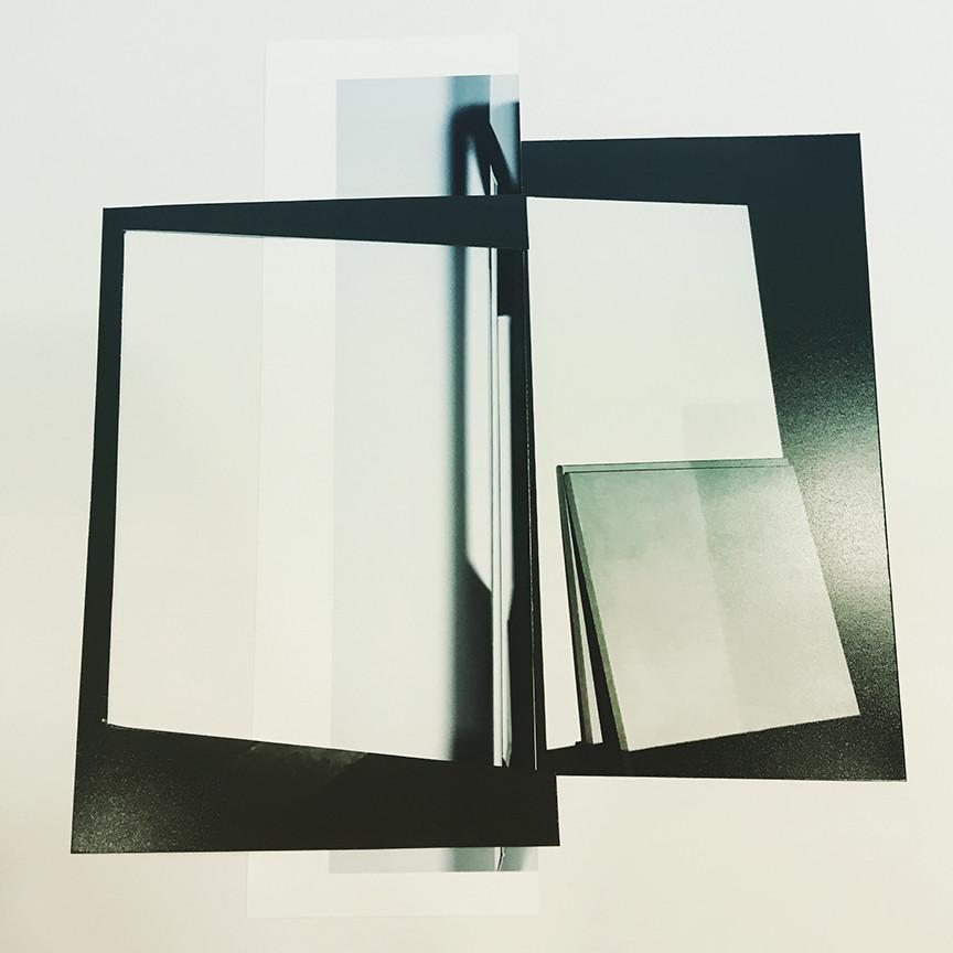 Studio Projection (Reconfigured), 2019, Archival inkjet print, 20 x 20 inches
