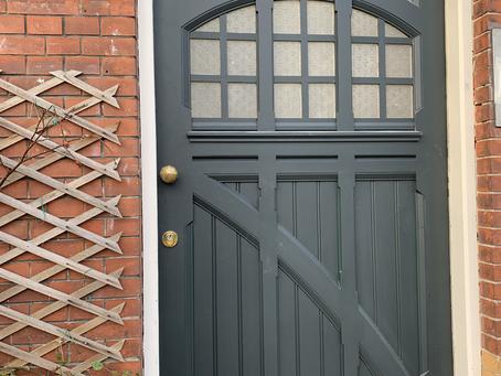 Monumentale deur