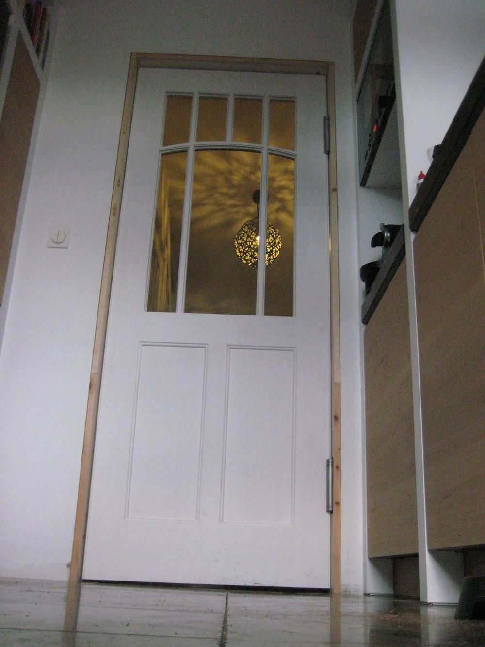 Binnendeur, paneeldeur keuken/hal Art Deco