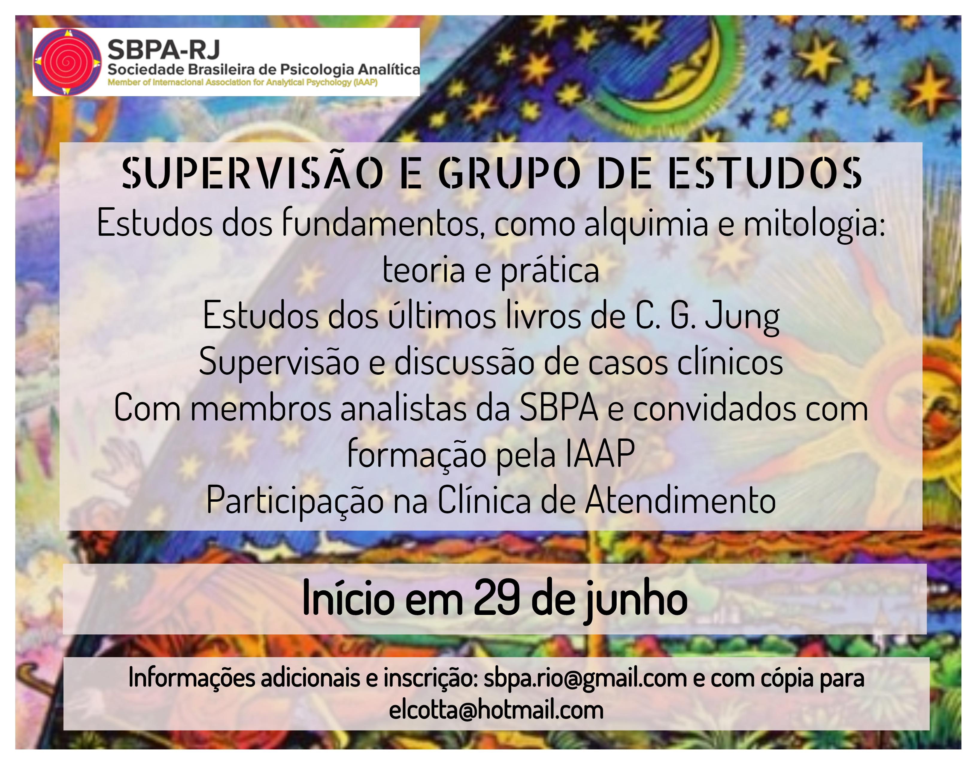 Supervisão e Grupo de Estudos