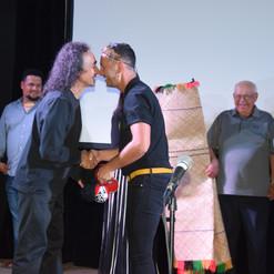 WIFF Maori Peter and Blake do the nose t