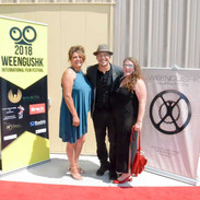 WIFF 2019 Red Carpet Shawbonquit and Arcand
